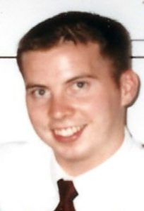 David Sneddon, an American student possibly abduted by North Korea