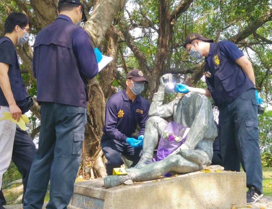 日本人技師の銅像壊される