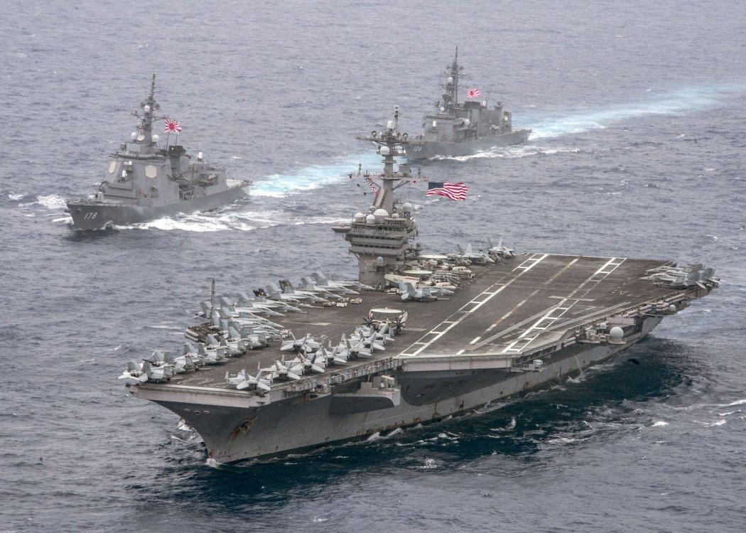 U.S. Navy and Japan Maritime Self-Defense Force (JMSDF)