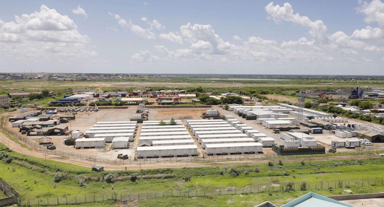 GSDF's PKO in South Sudan