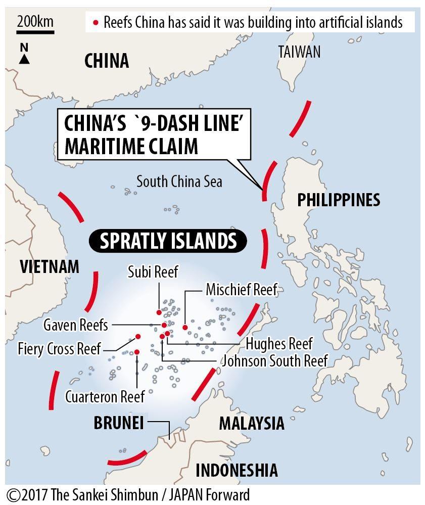【JF】Map of South China sea