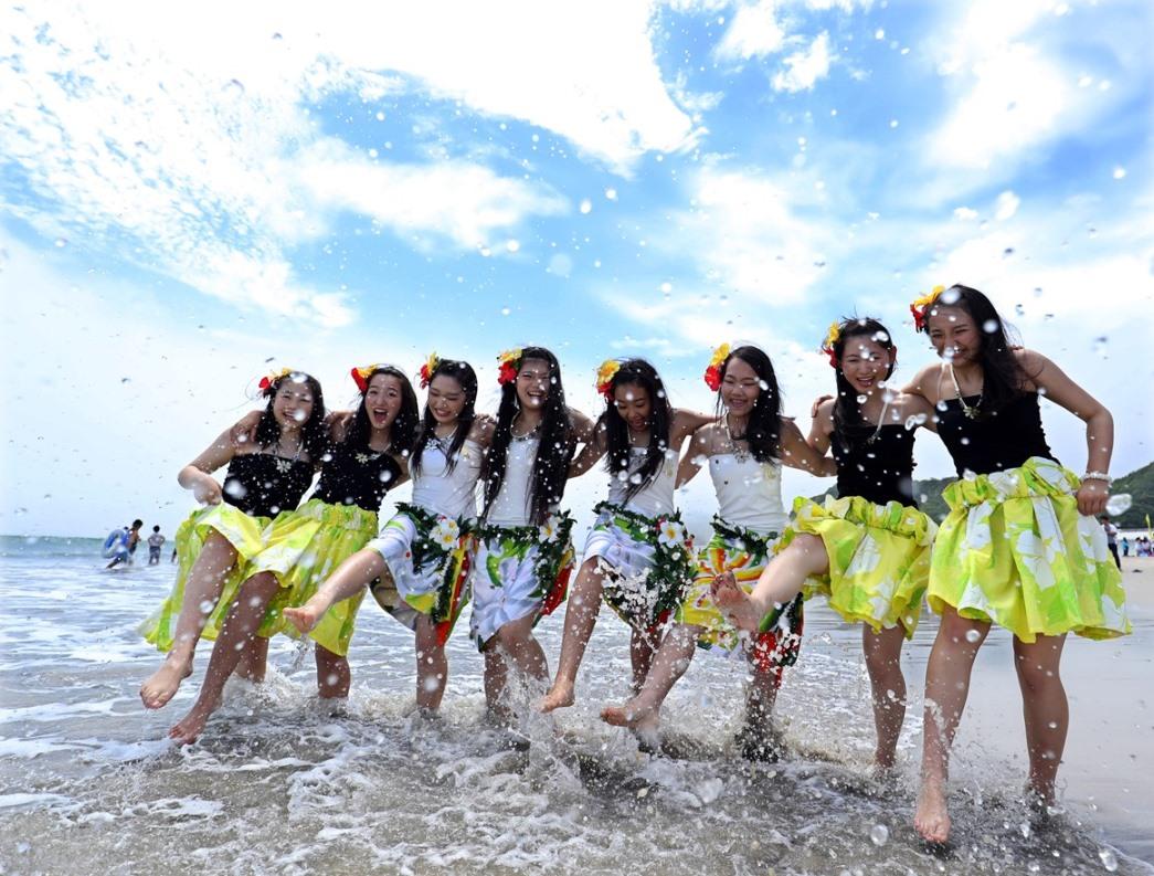 薄磯海水浴場が7年ぶりに海開き1 | JAPAN Forward