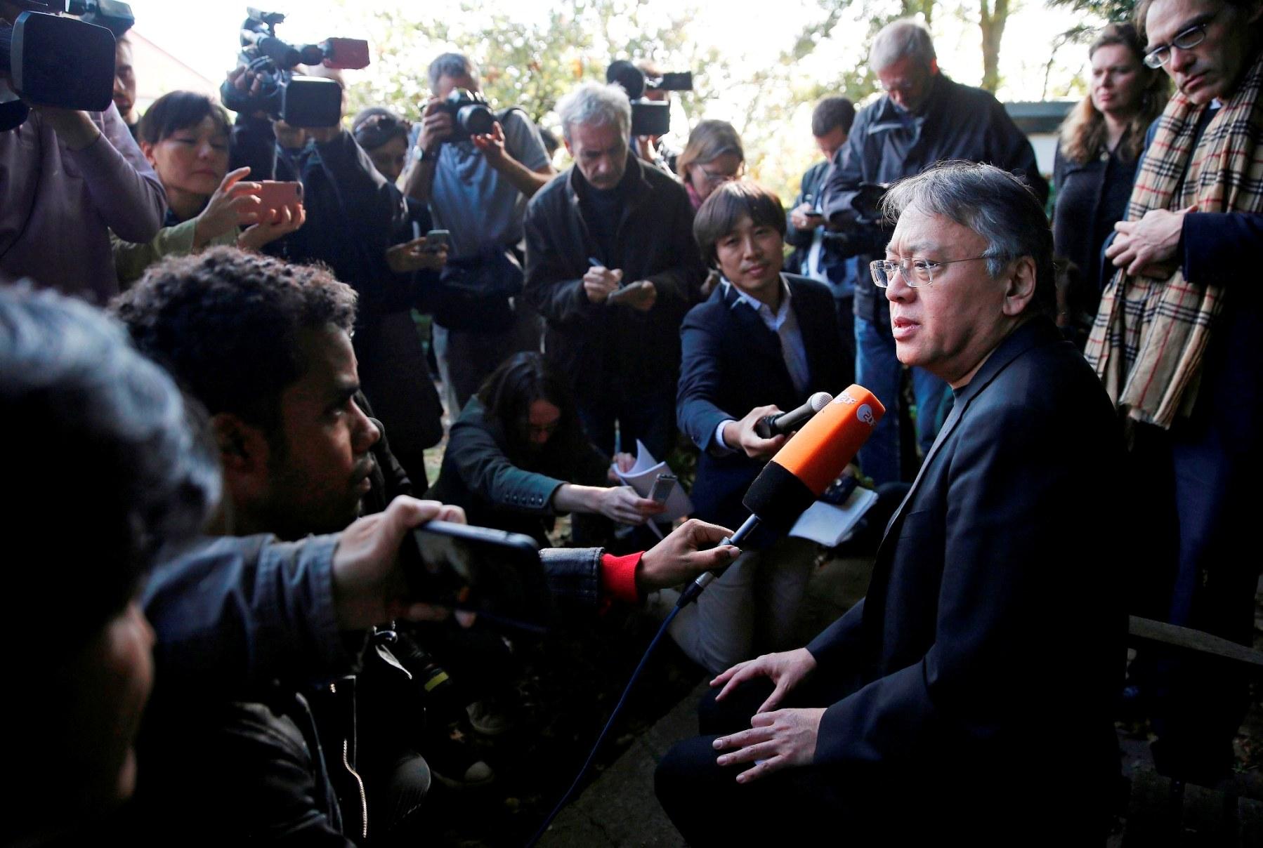 Kazuo Ishiguro Nobel Prize for Literature