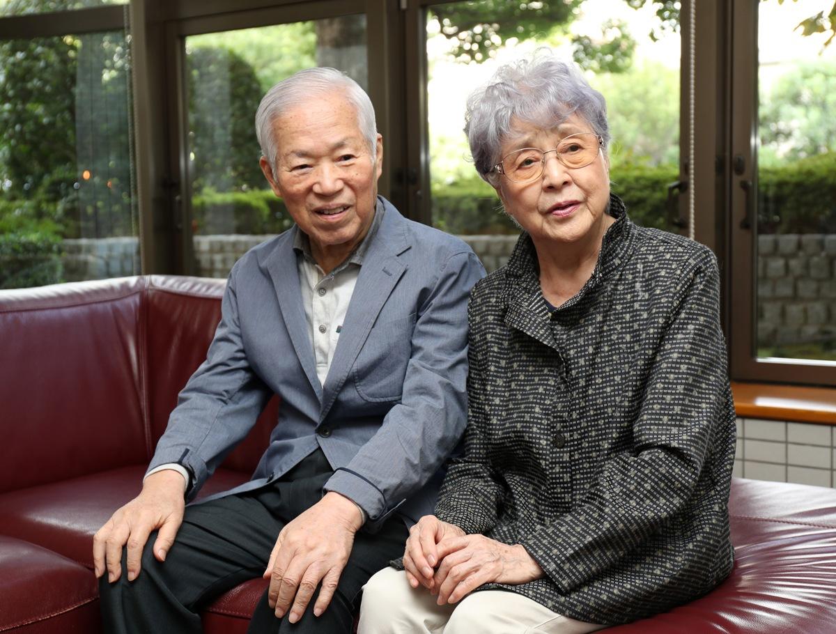 Shigeru and Sakie Yokota