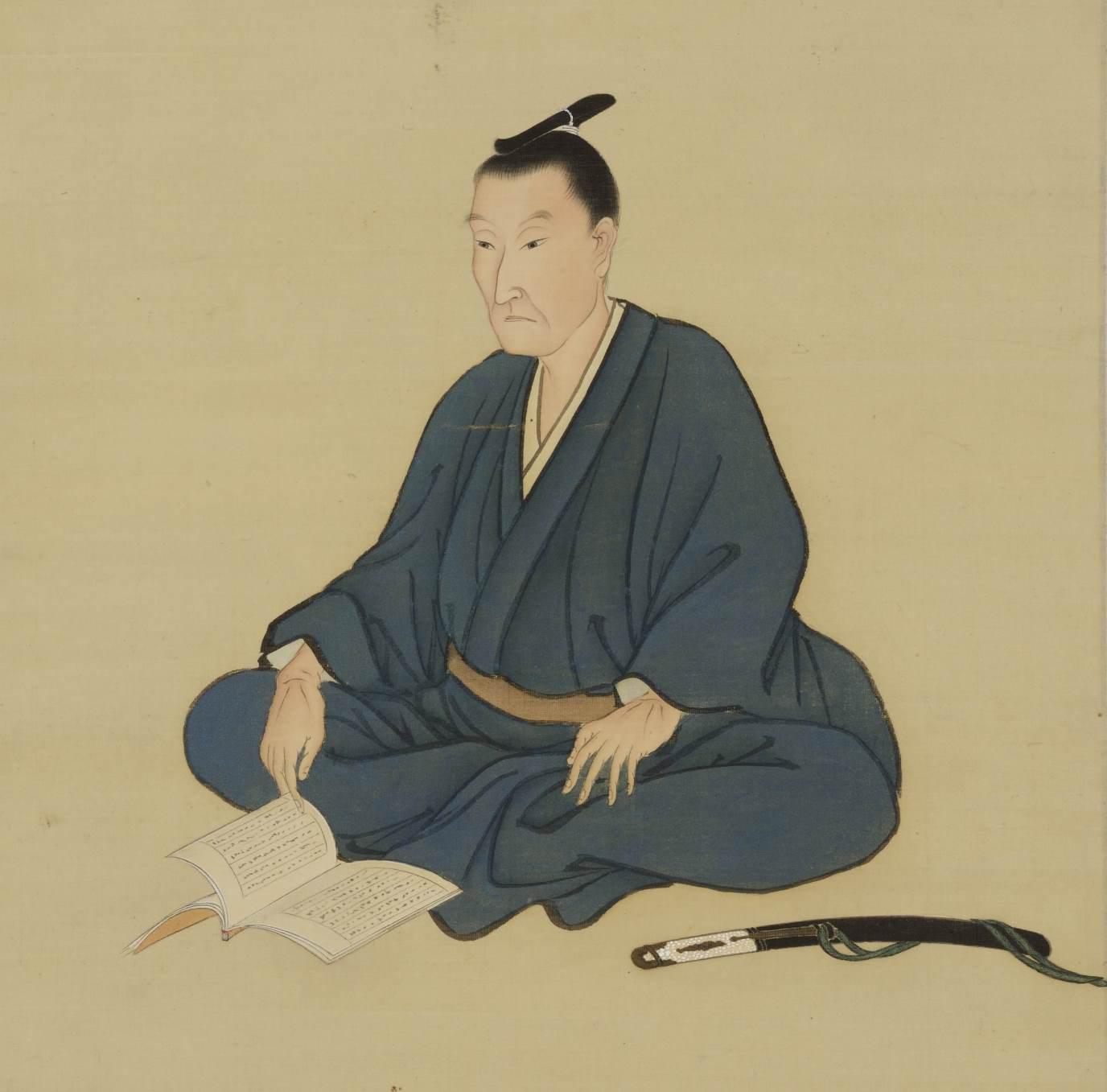明治維新150年・松陰肖像画
