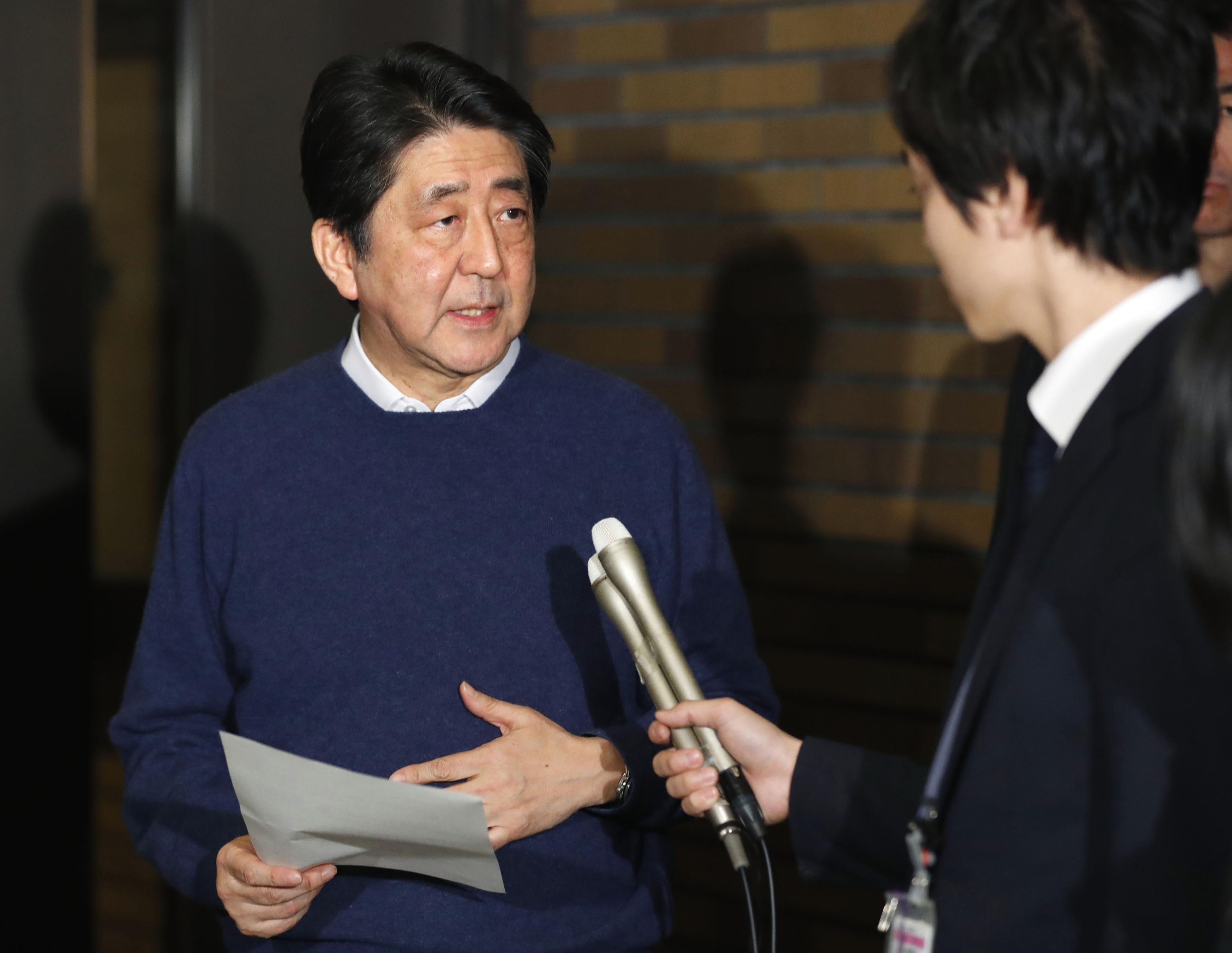 日米首脳が電話会談