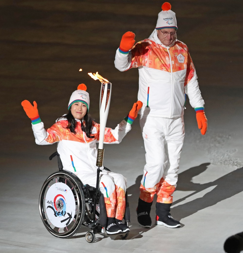 Opening ceremony of the paralympics