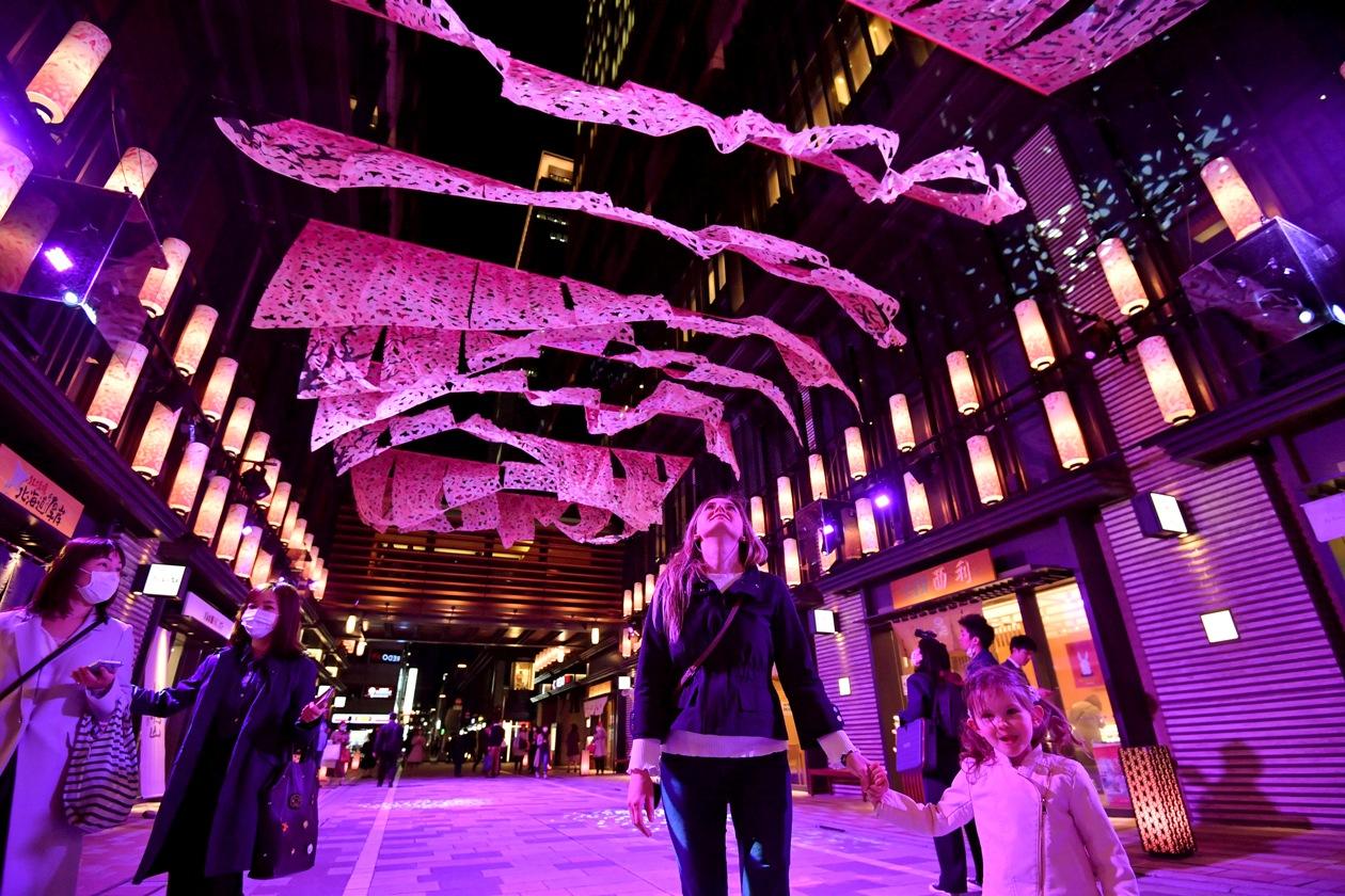 Sakura Festival at Nihonbashi