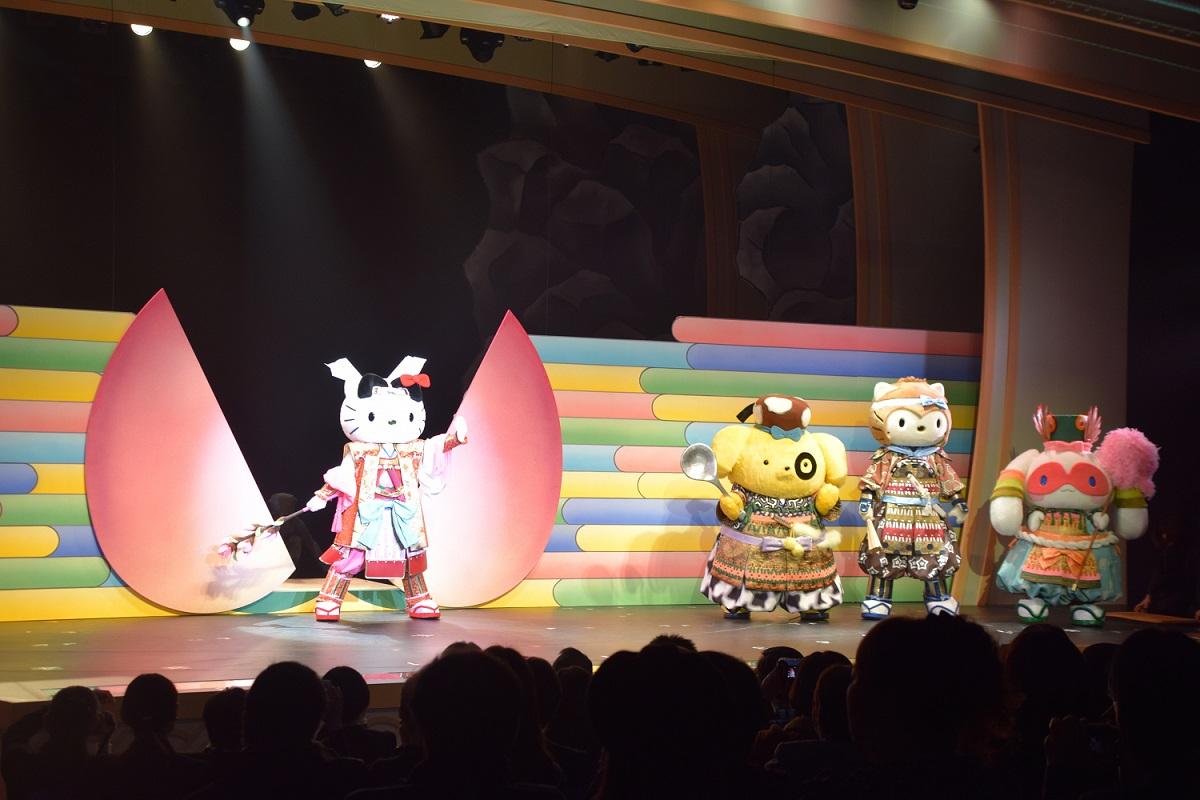 Performance of KAWAII Kabuki-Momotarō
