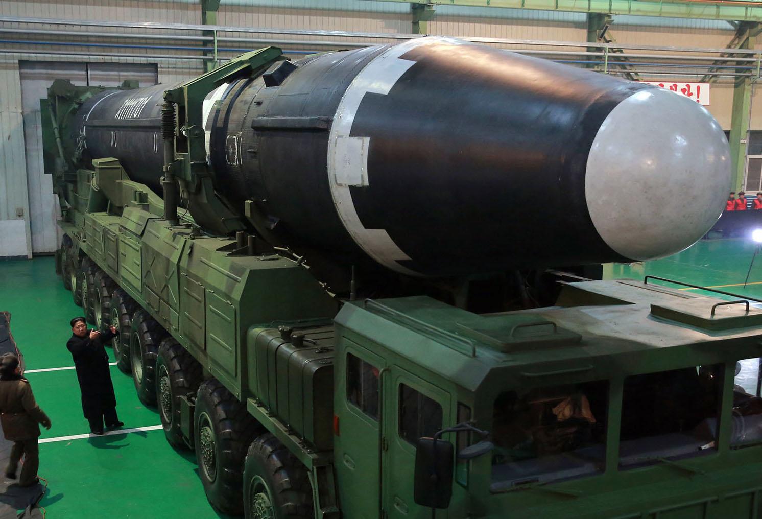North Korean Ballistic Missile