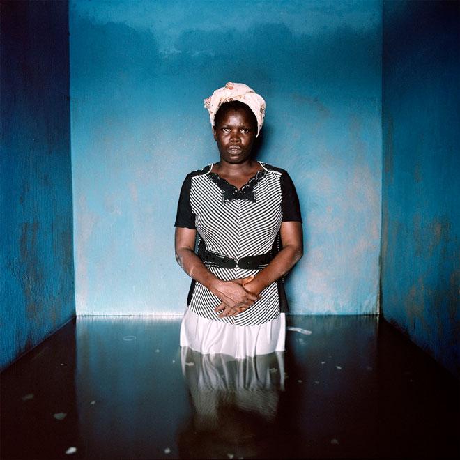 Florence Abraham, Igbogene, Bayelsa State, Nigeria. November 2012