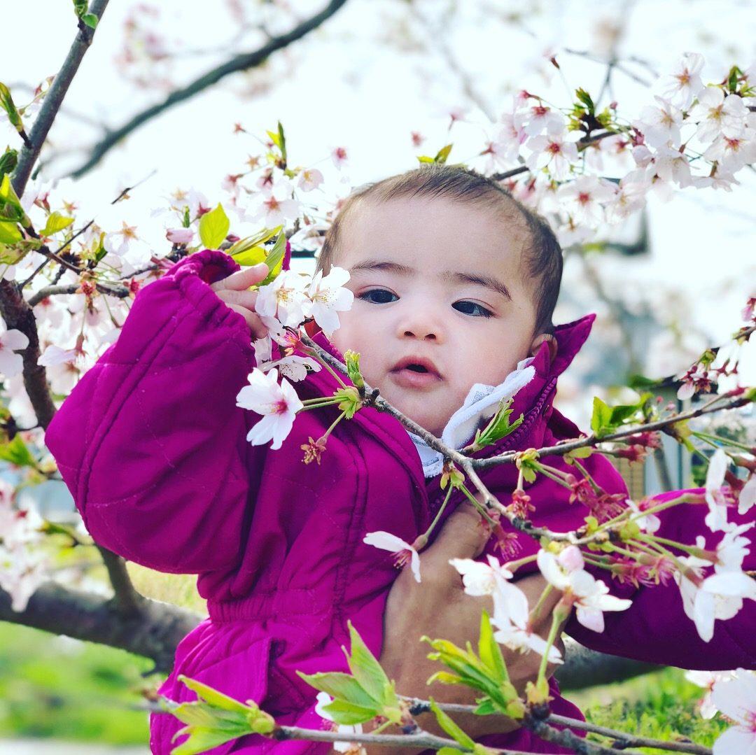 Nami's first Sakura photo – Shiela Mae Madum