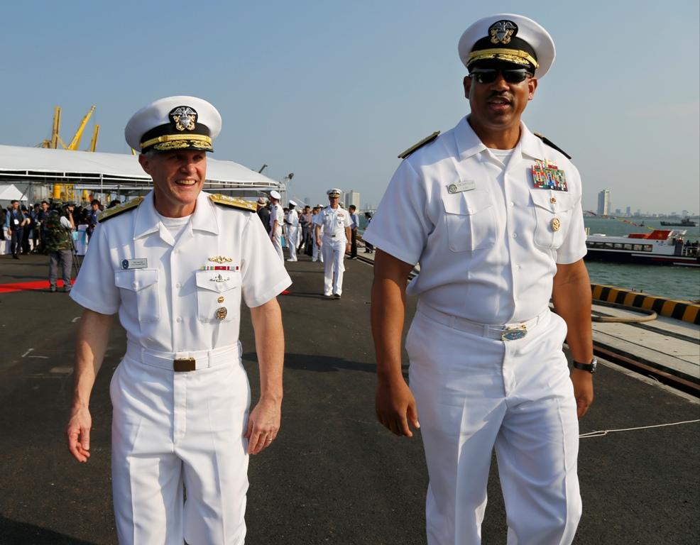 Vietnam US Navy Visit