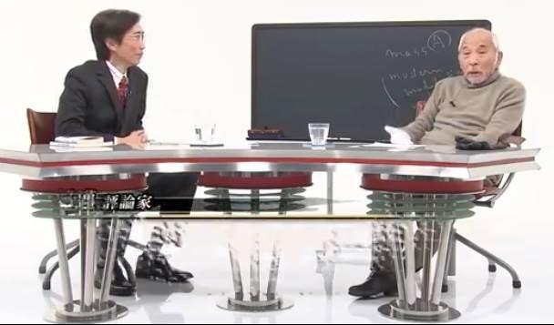 Tadashi Aoyama (L) with Susumu Nishibe