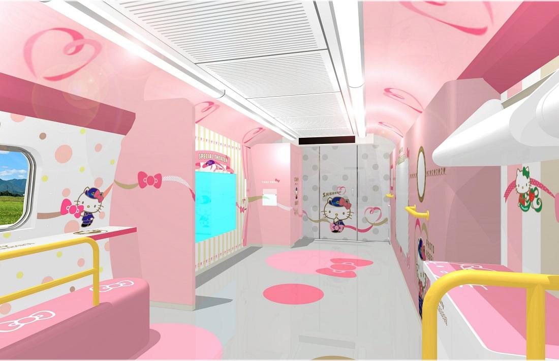 Hello Kitty Shinkansen to Make Daily Round Trips From Shin-Osaka to Hakata Starting June 30