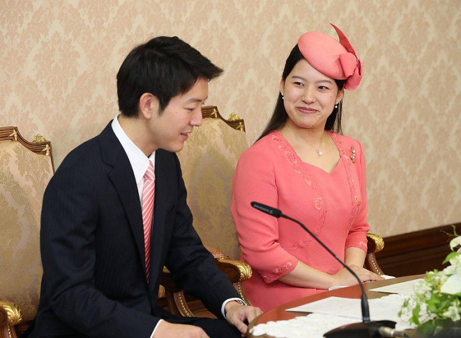 'Pleased and Thrilled' Princess Ayako, Fiancé Moriya Take Questions