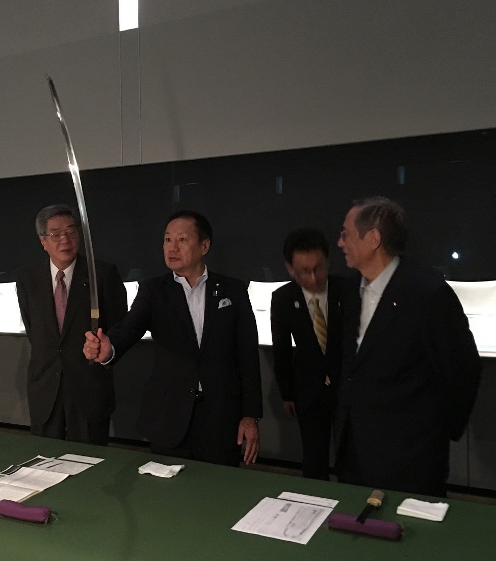 Campaign to Save Japanese Sword Culture Gets Support From Political Heavyweights