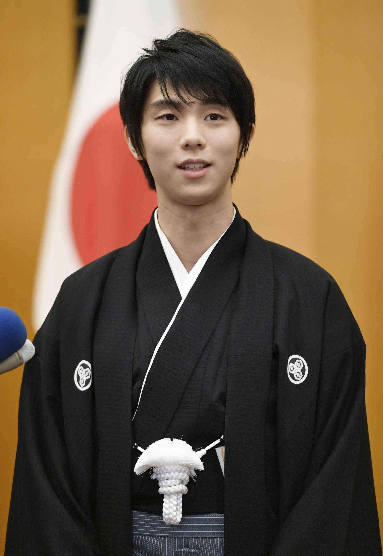 National Glory as Figure Skater Yuzuru Hanyu Receives People's Honor Award