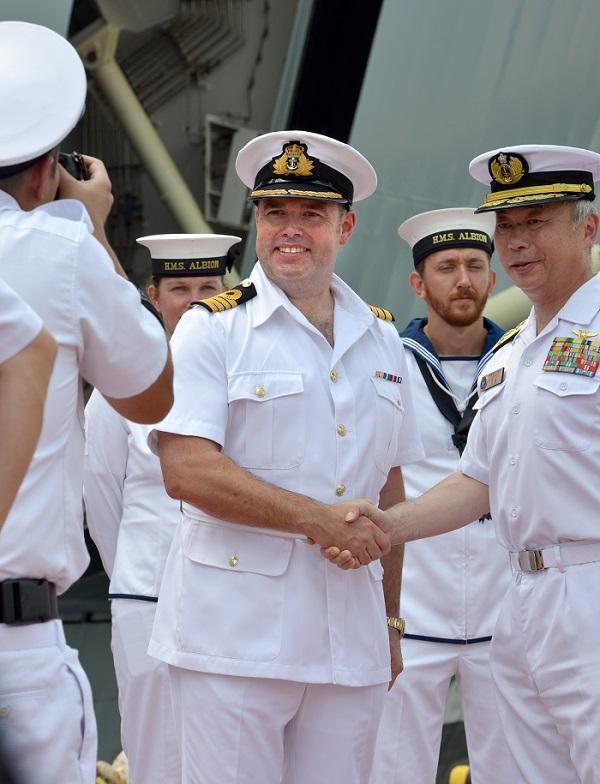 U.K. Royal Navy's 'HMS Albion' Visits Tokyo Port to Enhance East Asia Presence