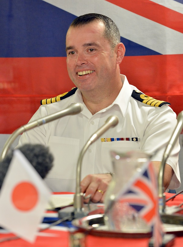 U.K. Royal Navy's 'HMS Albion' Visits Tokyo Port to Enhance East Asia Presence
