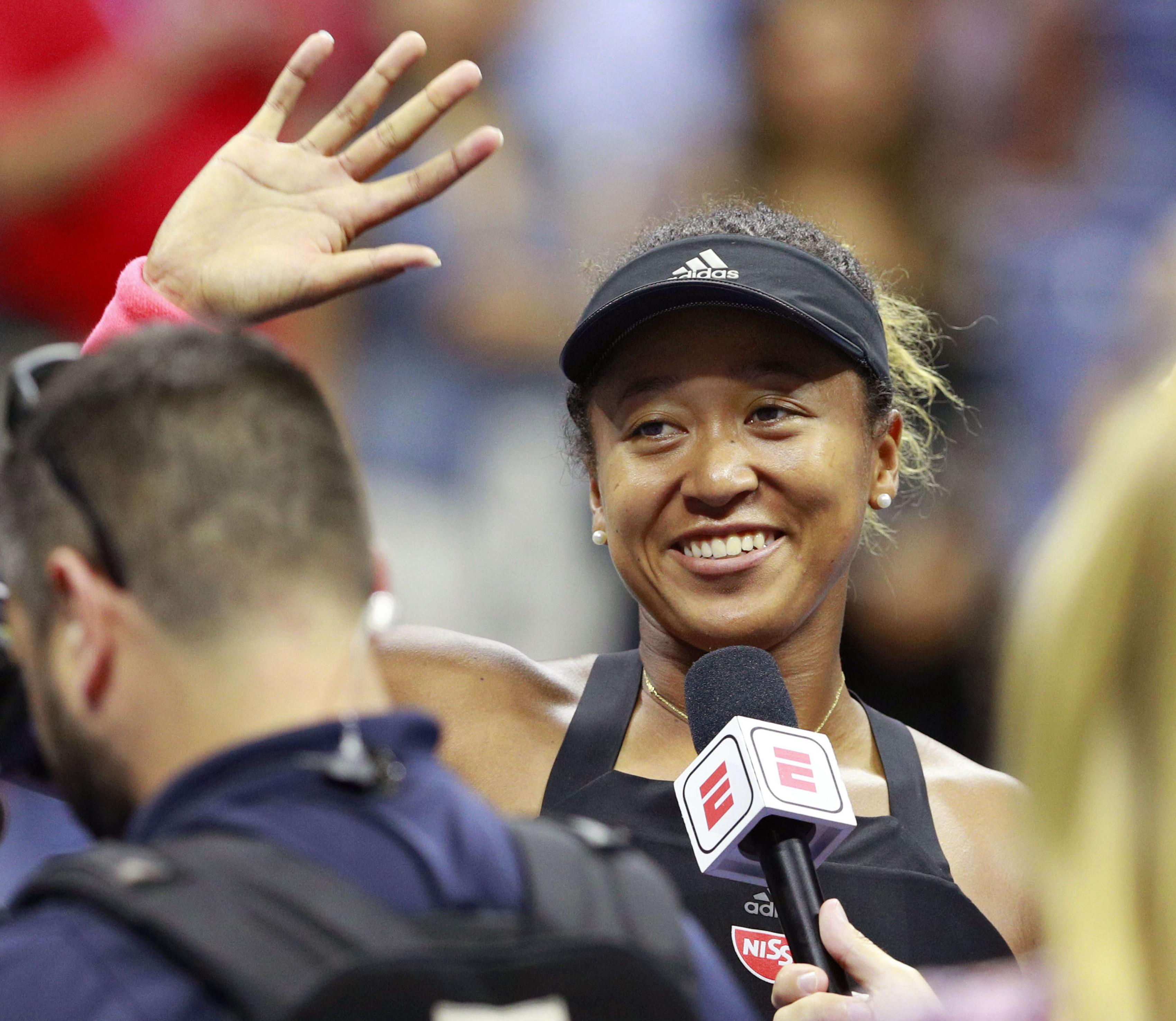 Naomi Osaka Becomes First Japanese Woman to Make U.S. Grand Slam