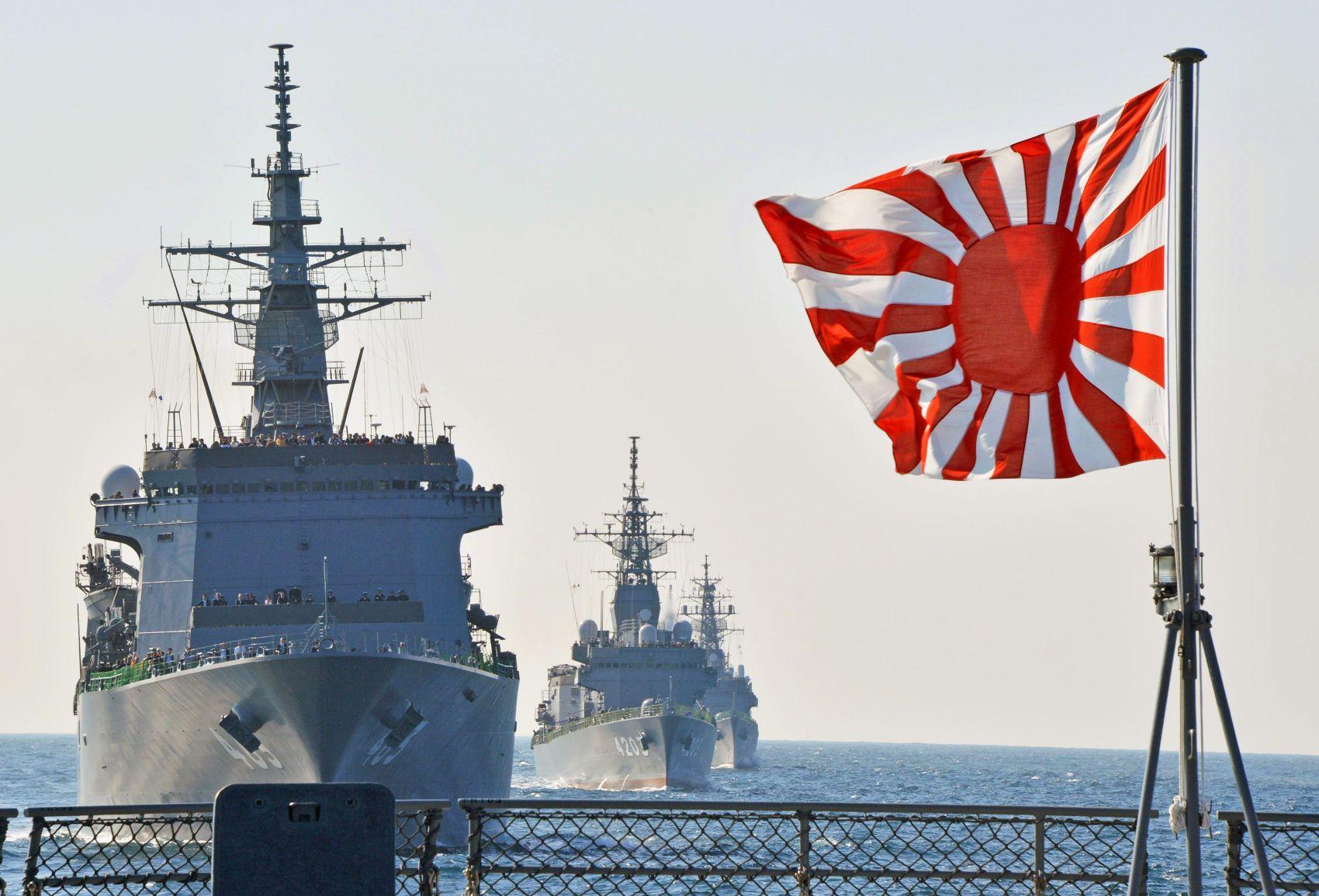 Japan to Hoist 'Rising Sun Flag' in International Fleet Review Despite South Korea's Protests