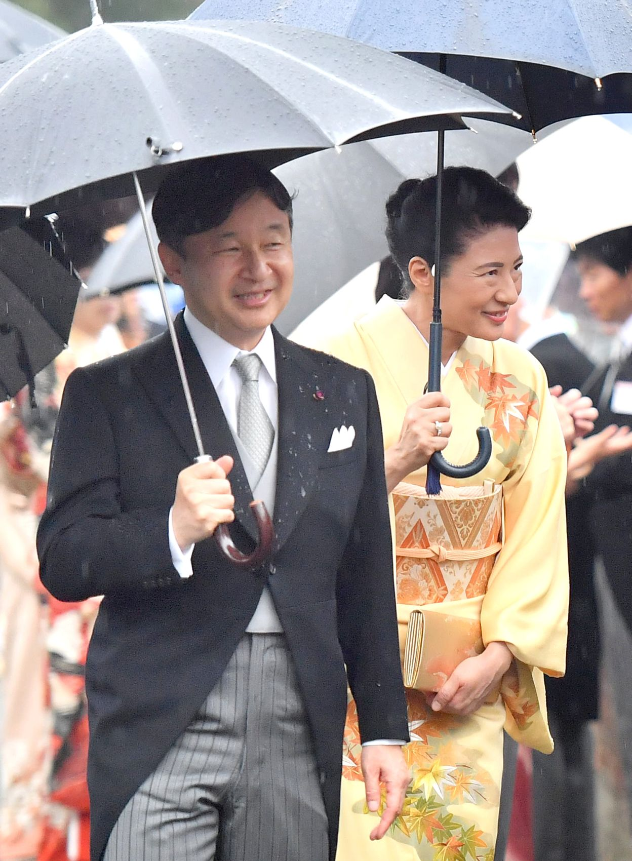 Emperor, Empress Host the Last Imperial Garden Party of the Heisei Era