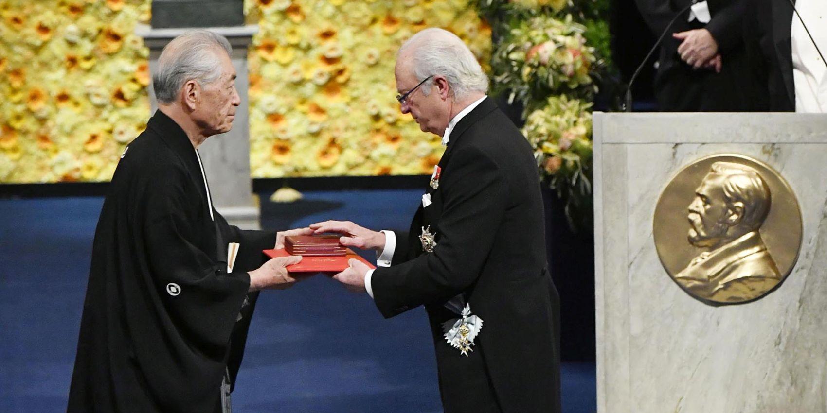 2018 Nobel Laureate Tasuku Honjo Japan
