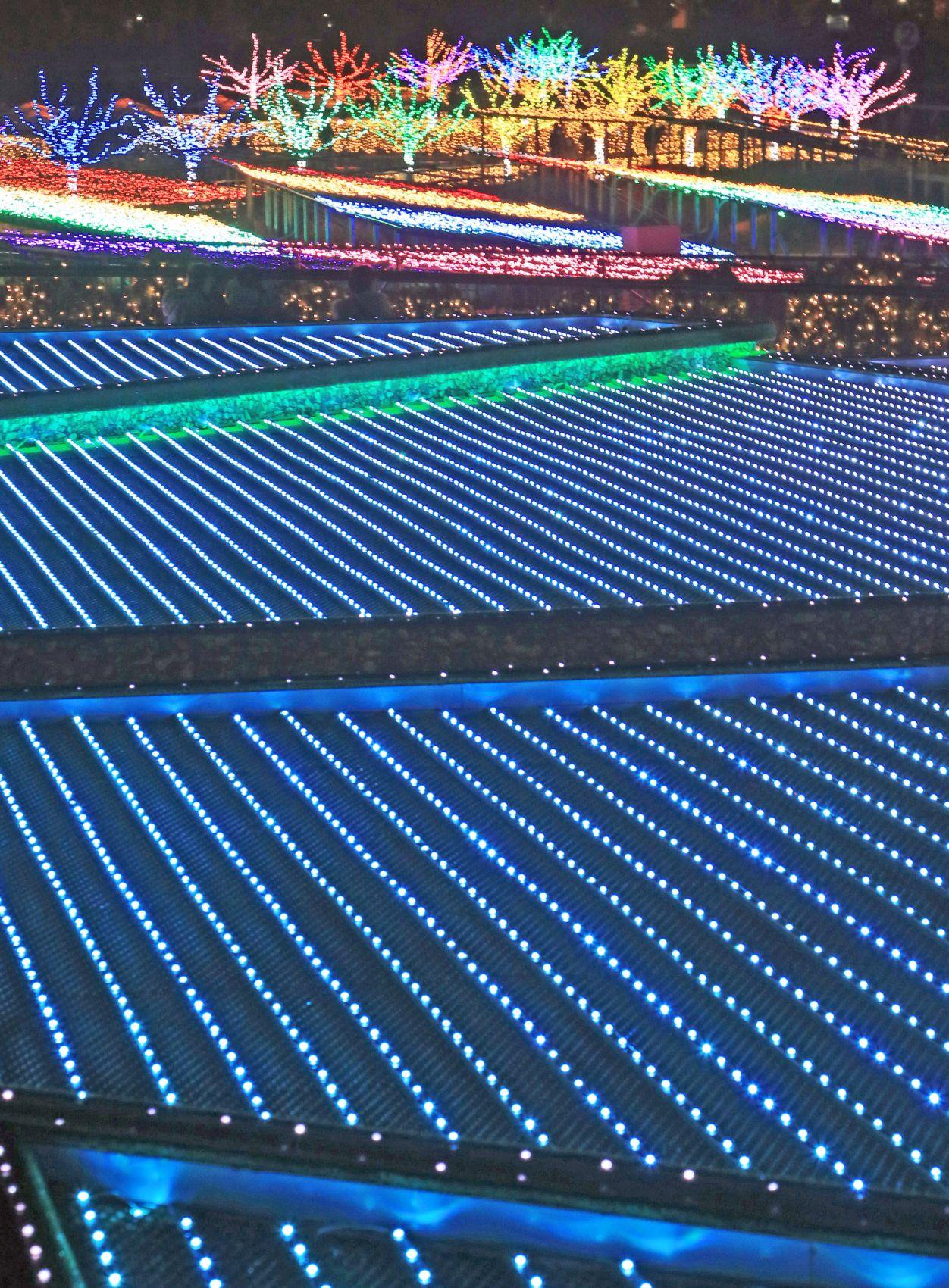 Tokyo Mega Illumination: 'Oi Racecourse' Dazzles With Unusual Light Installation