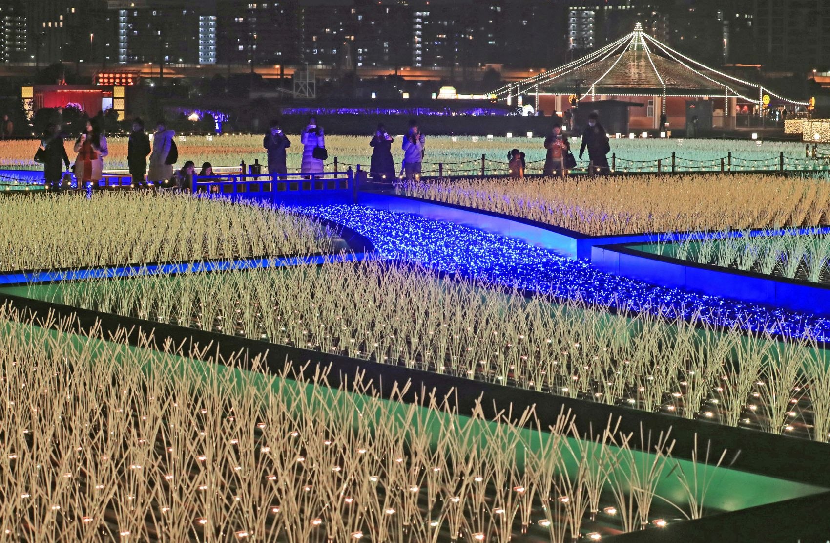 Tokyo Mega Illumination: 'Oi Racecourse' Dazzles With Unusual Light Installation