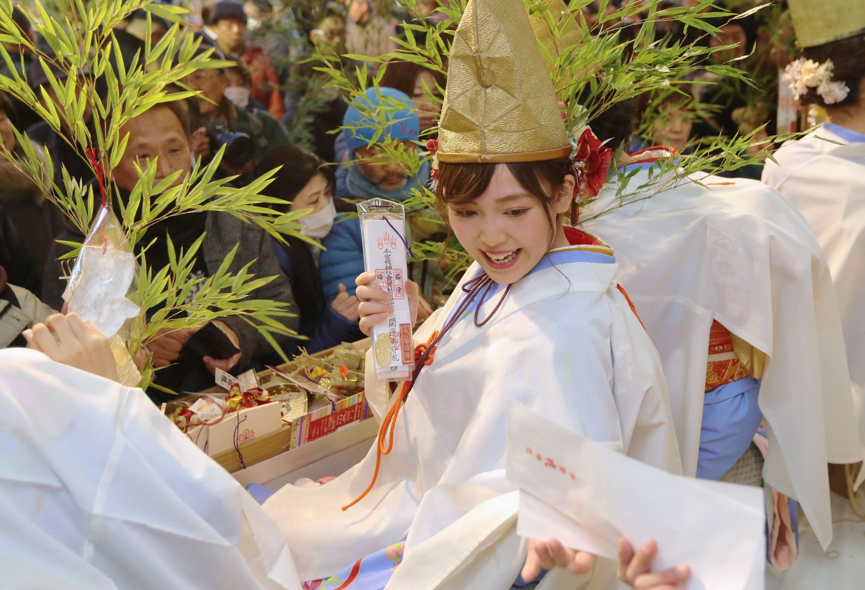 [Hidden Wonders of Japan] Pray to the God of Good Business with a Bamboo Branch!