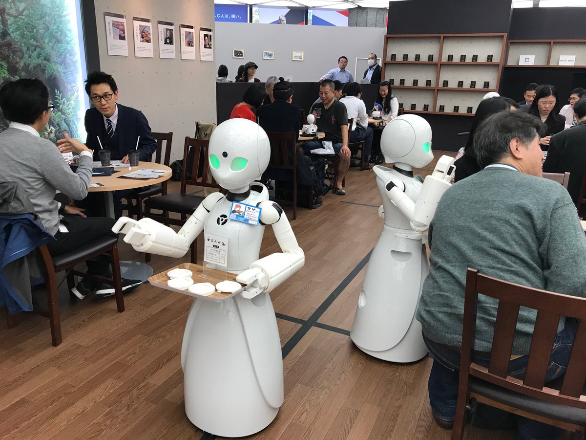 Japan Avatar Robot Cafe Orihime 001