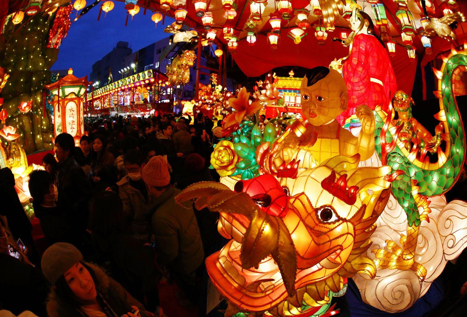 Nagasaki Lantern Festival 2019 Turns City Into Magical Spirited Away Experience