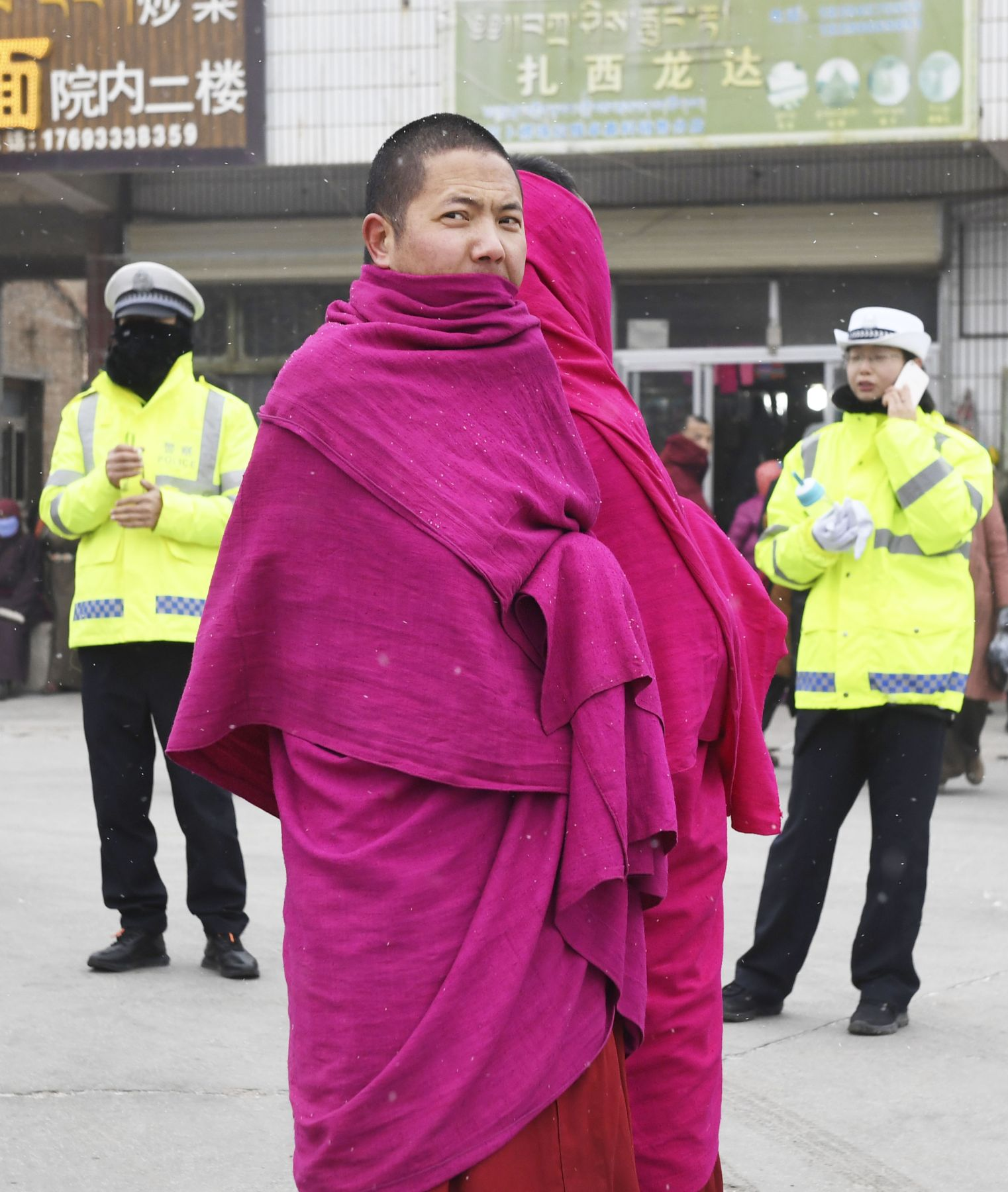 China Tibet and Uighurs Chinese Centrism Suppression of Minorities 014