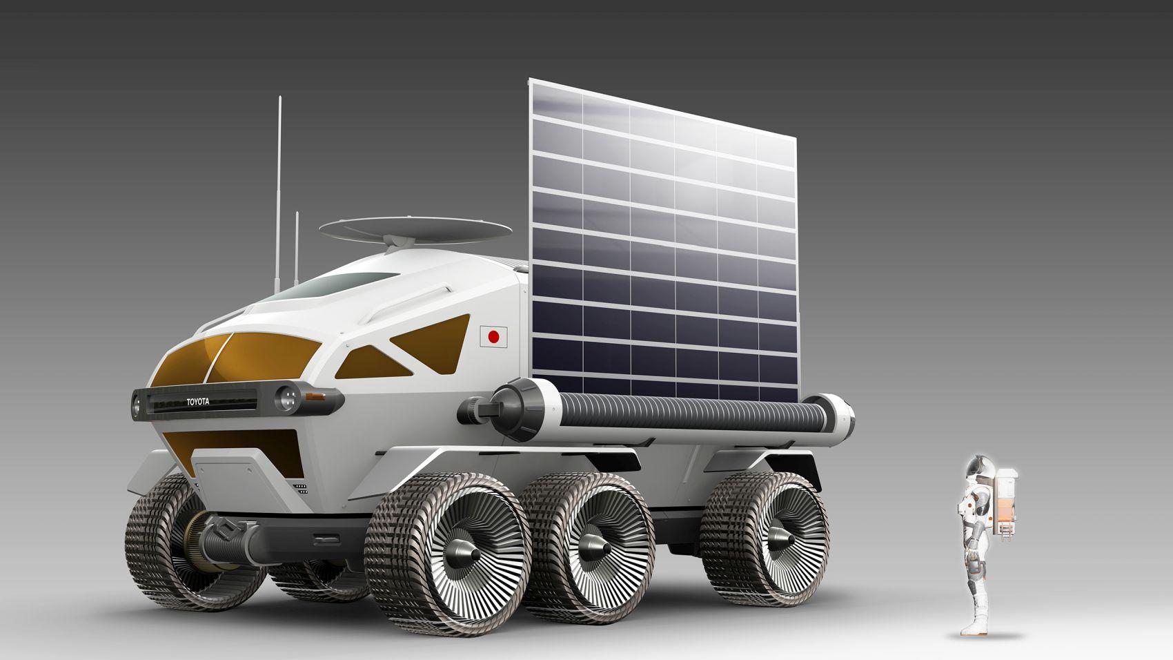 JAXA Toyota Space Exploration Future Lunar Mobility 005