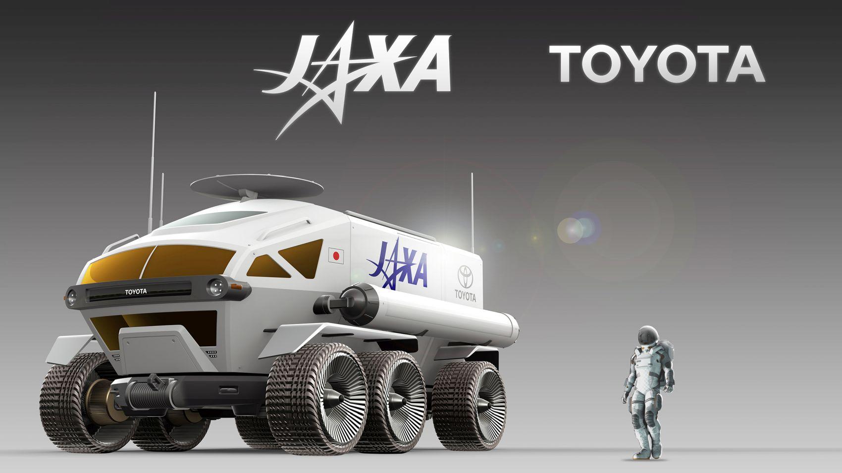 JAXA Toyota Space Exploration Future Lunar Mobility 007