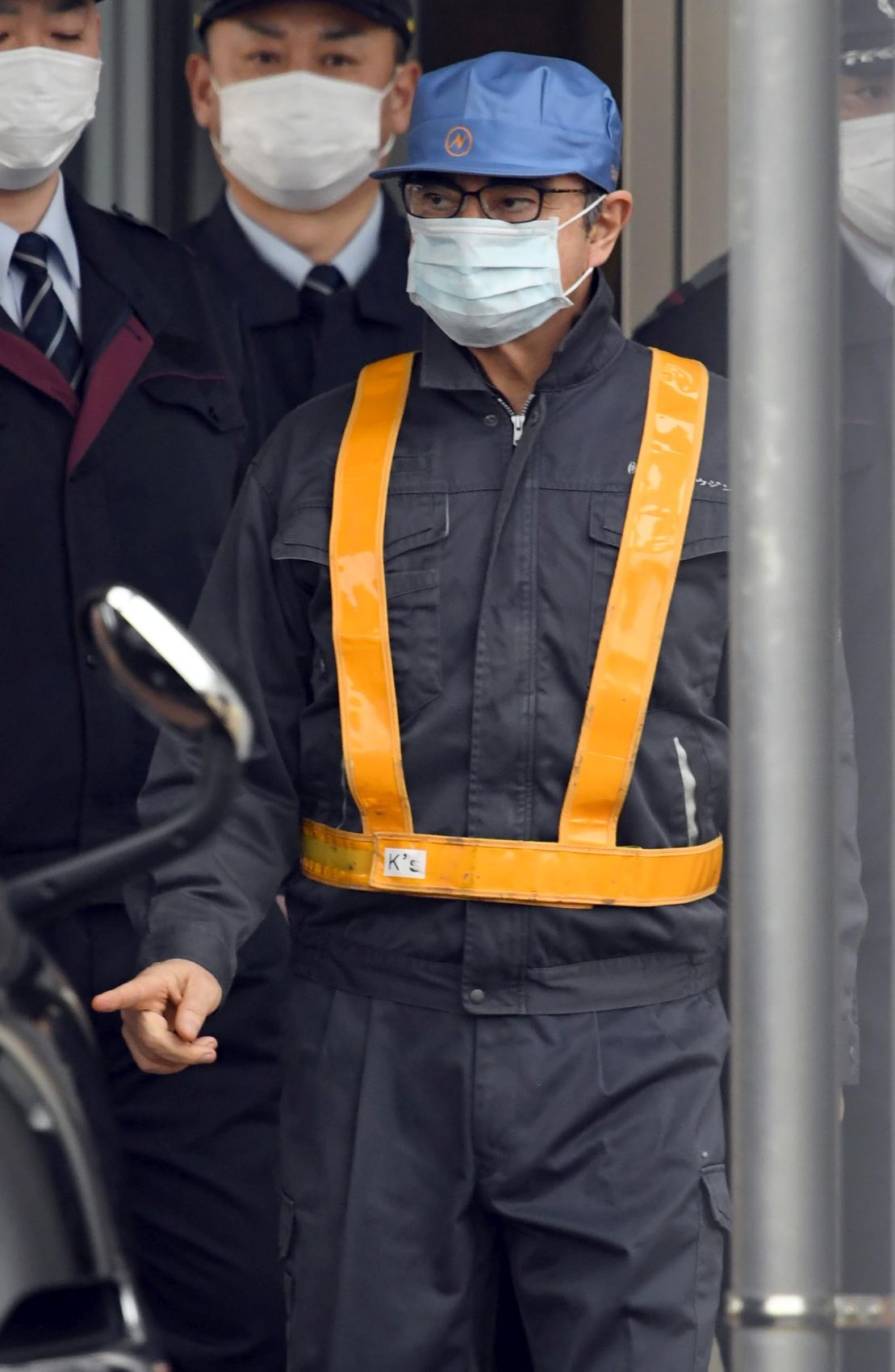 Japan Nissan Carlos Ghosn Released on Bail After Third Application 006