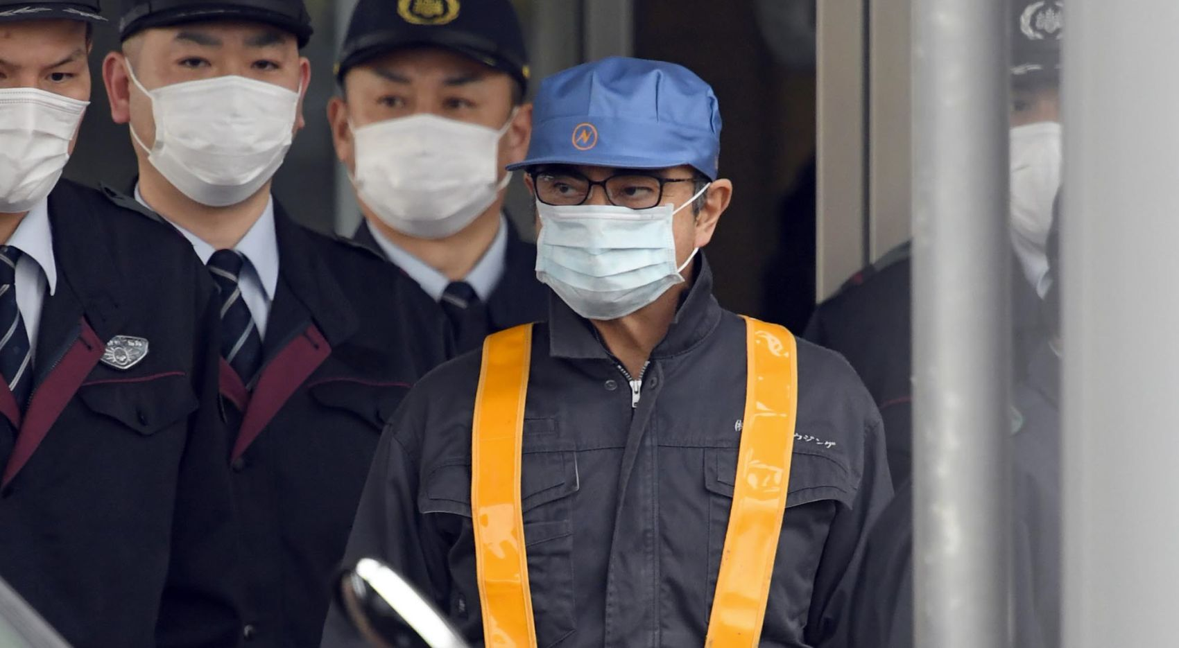Japan Nissan Carlos Ghosn Released on Bail After Third Application 014