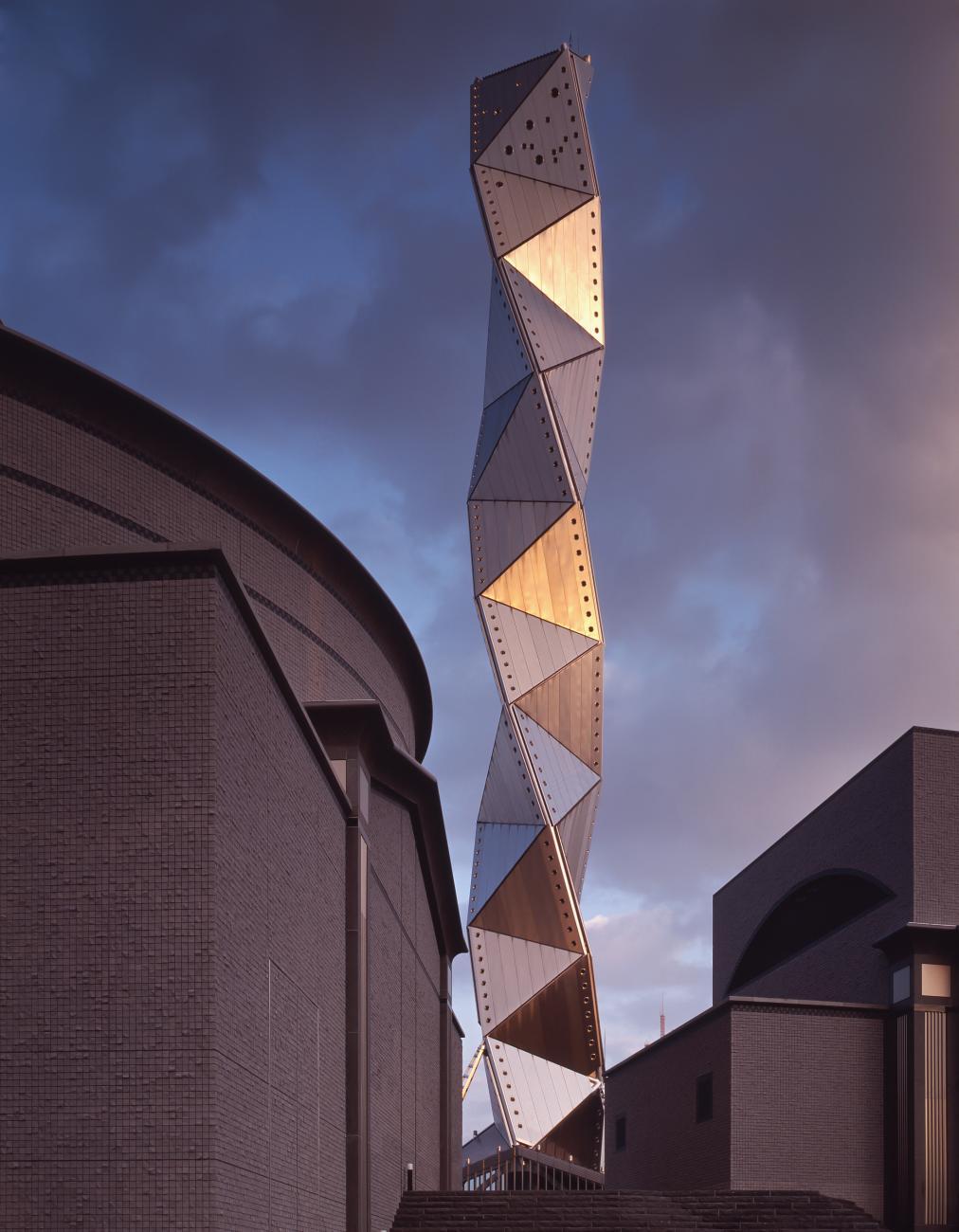 The tower, Art Tower MITO (1990), Yasuhiro ISHIMOTO