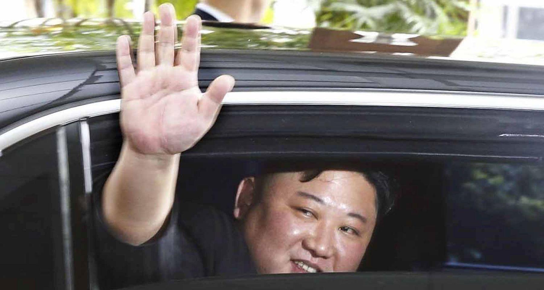 Trump Kim Summit in Hanoi 024