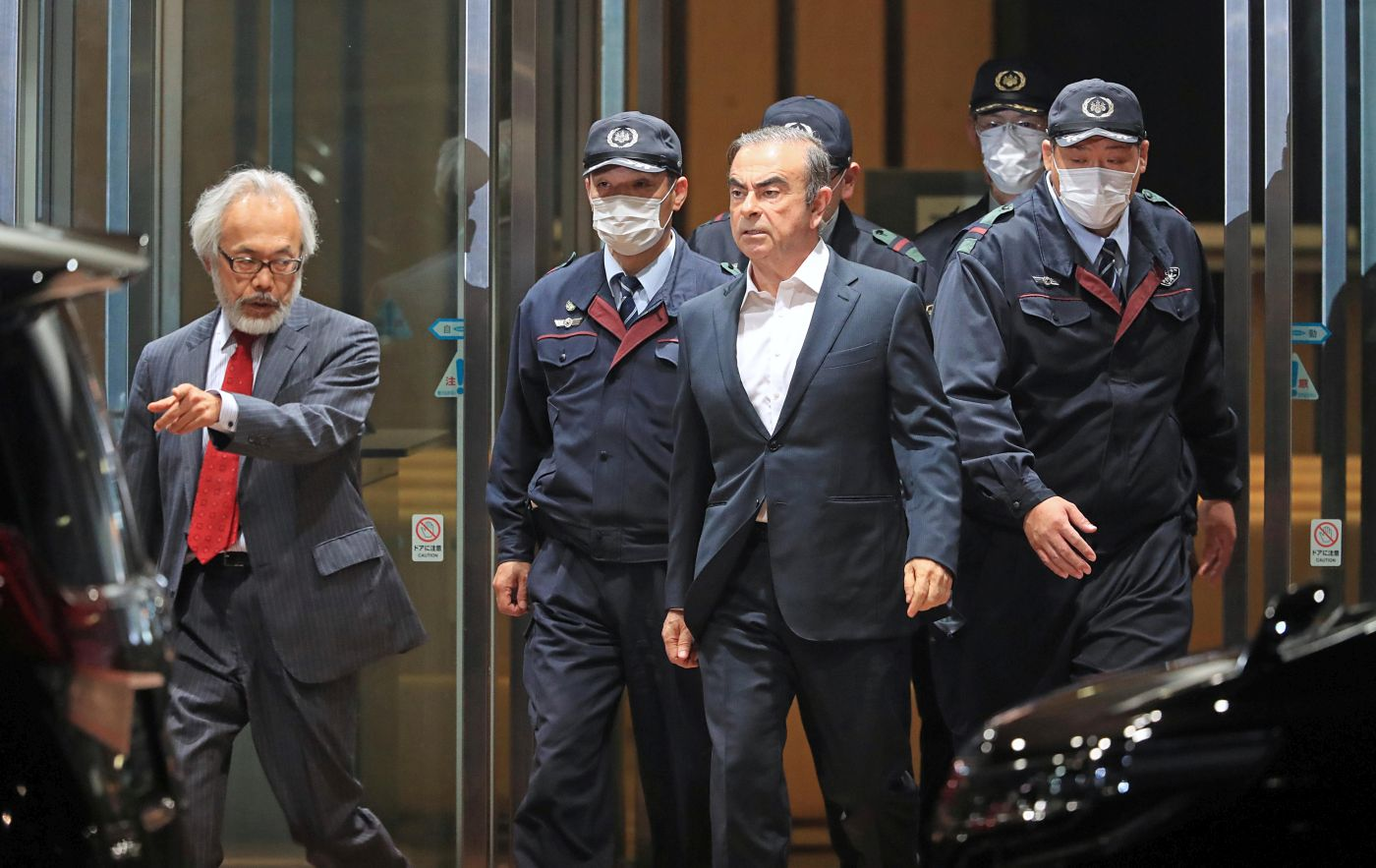 Japan Carlos Ghosn Released on Bail Once More 020