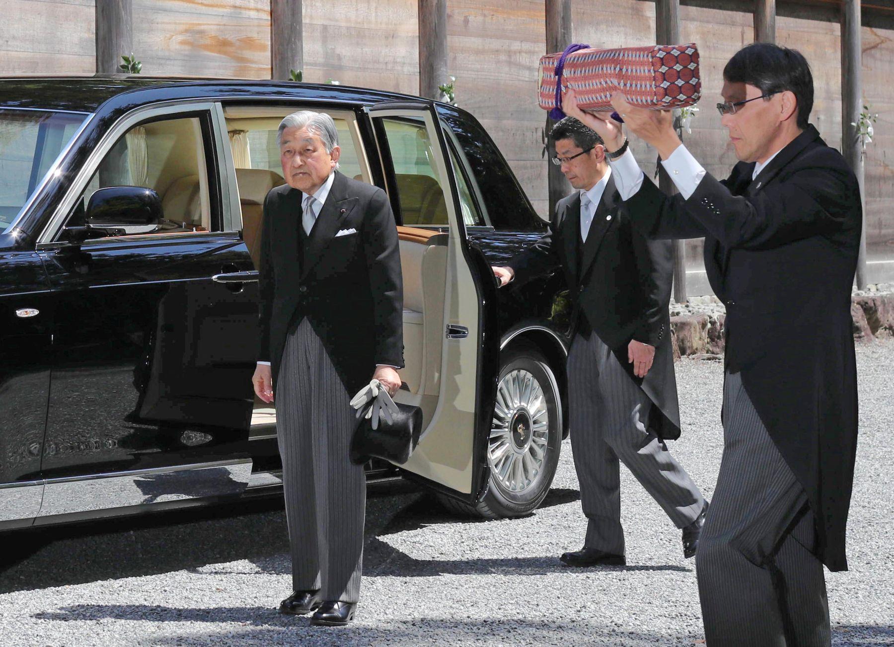 Japan Emperor at Ise Shrine Last Visit in Heisei Era 015