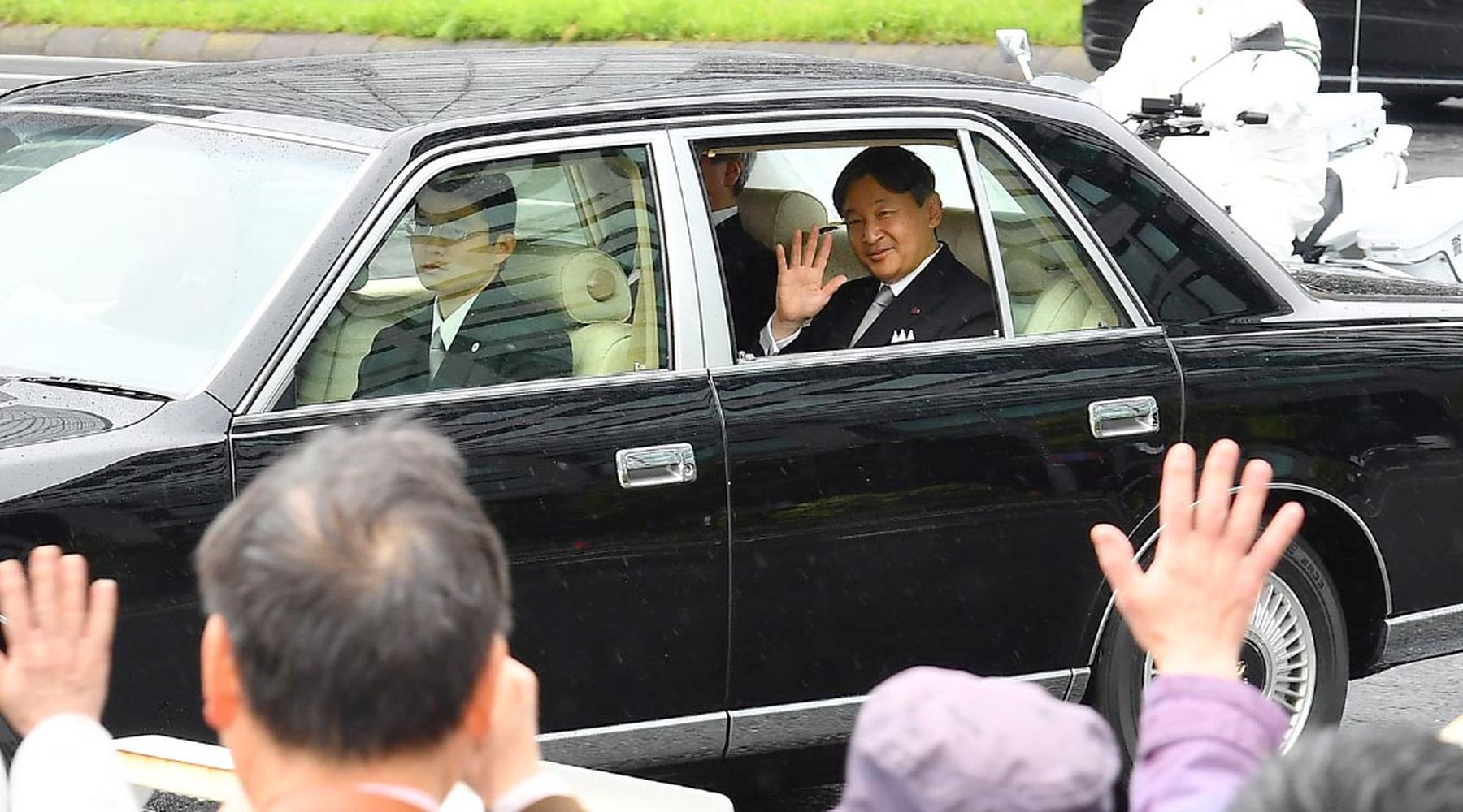 Japan and Emperor on the Day of Abdication 006