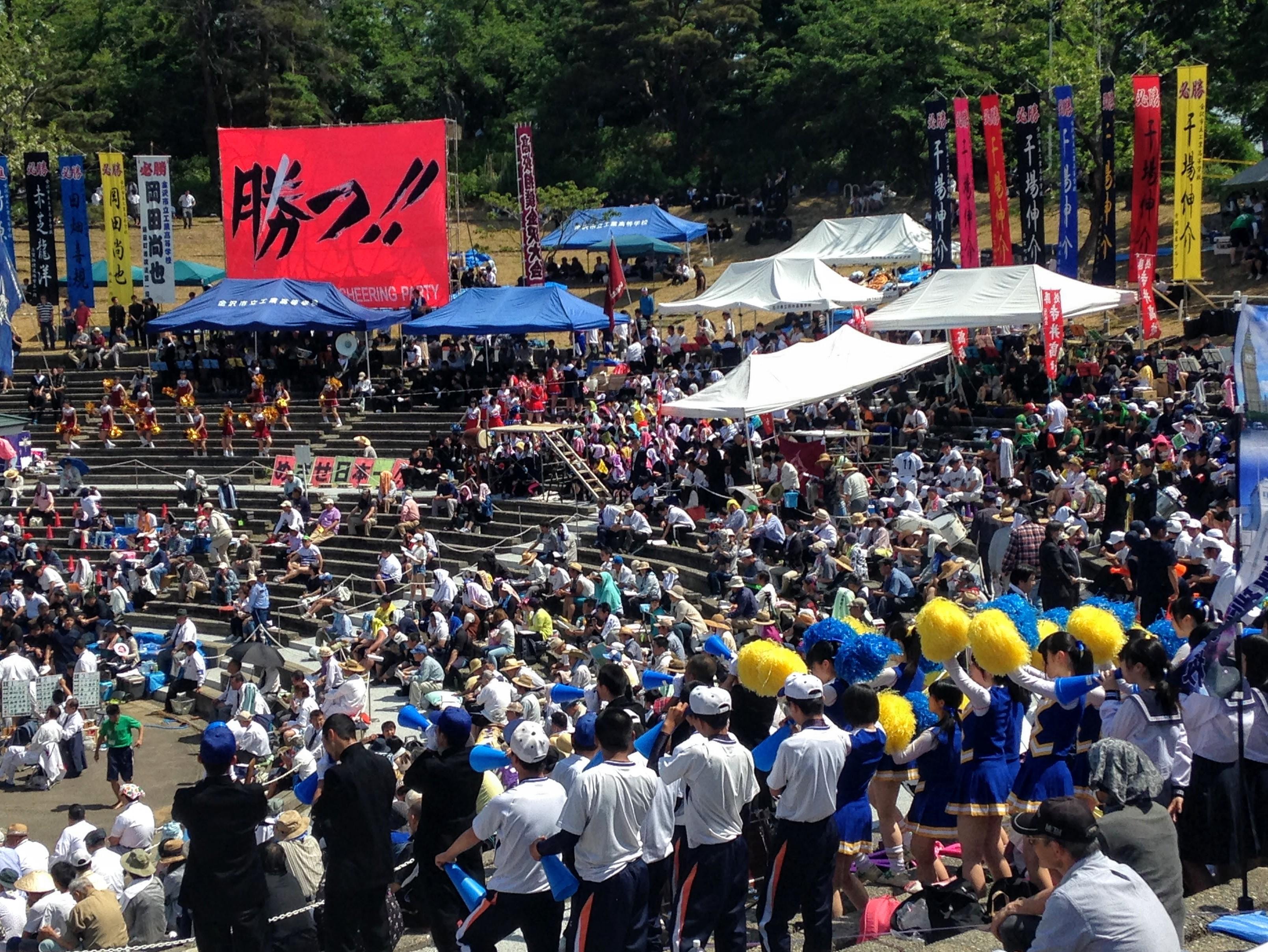 Loinclothes and Cheerleaders: Sumo Tournament Kanazawa