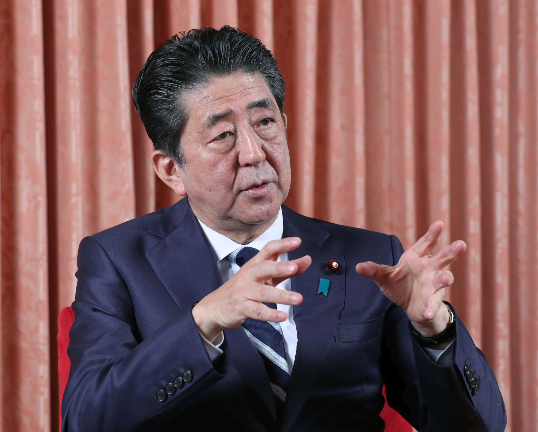 Interview with PM Abe by The Sankei Shimbun