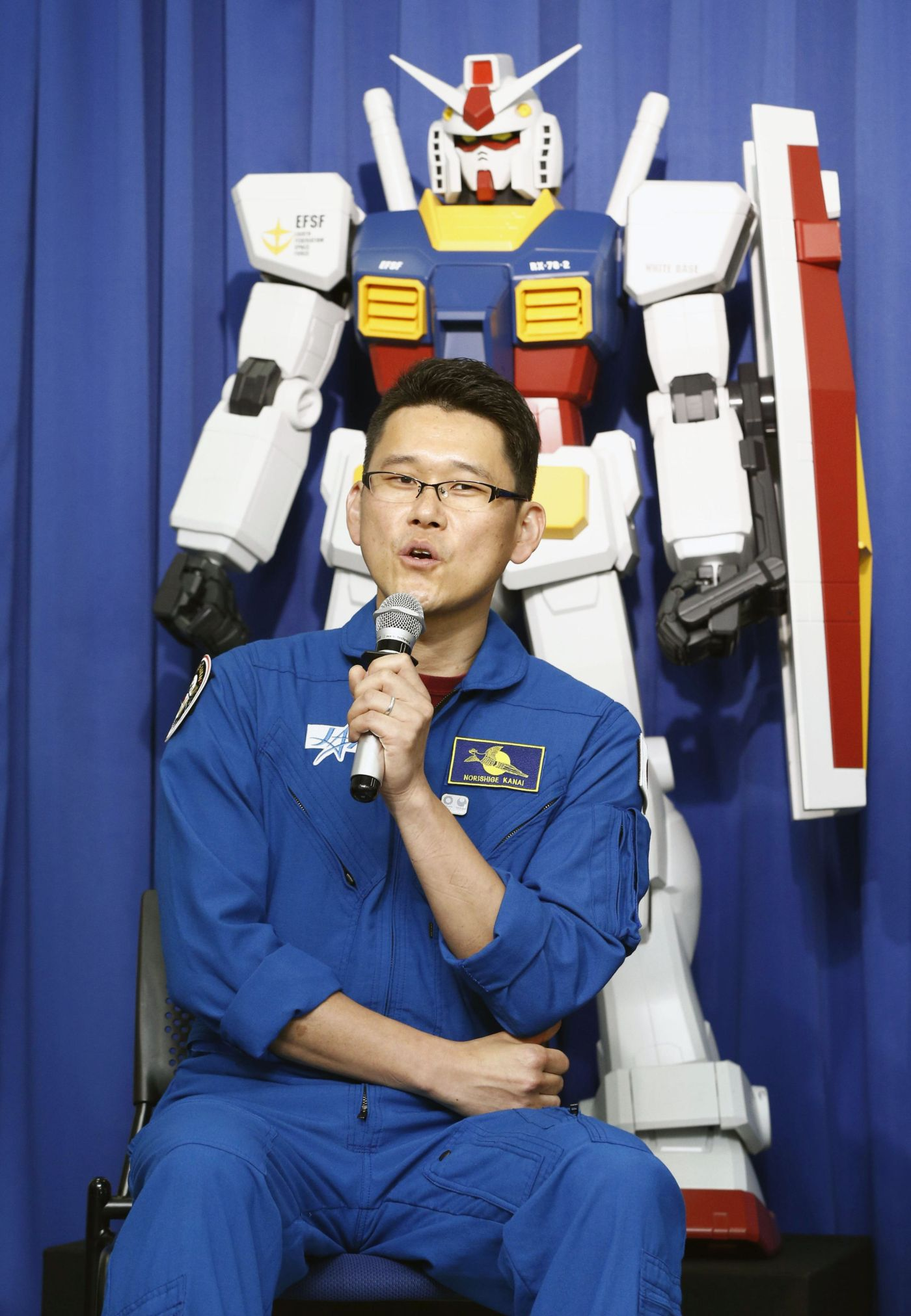 Japan Gundam Models to Travel into Space to Promote Olympic Games 002