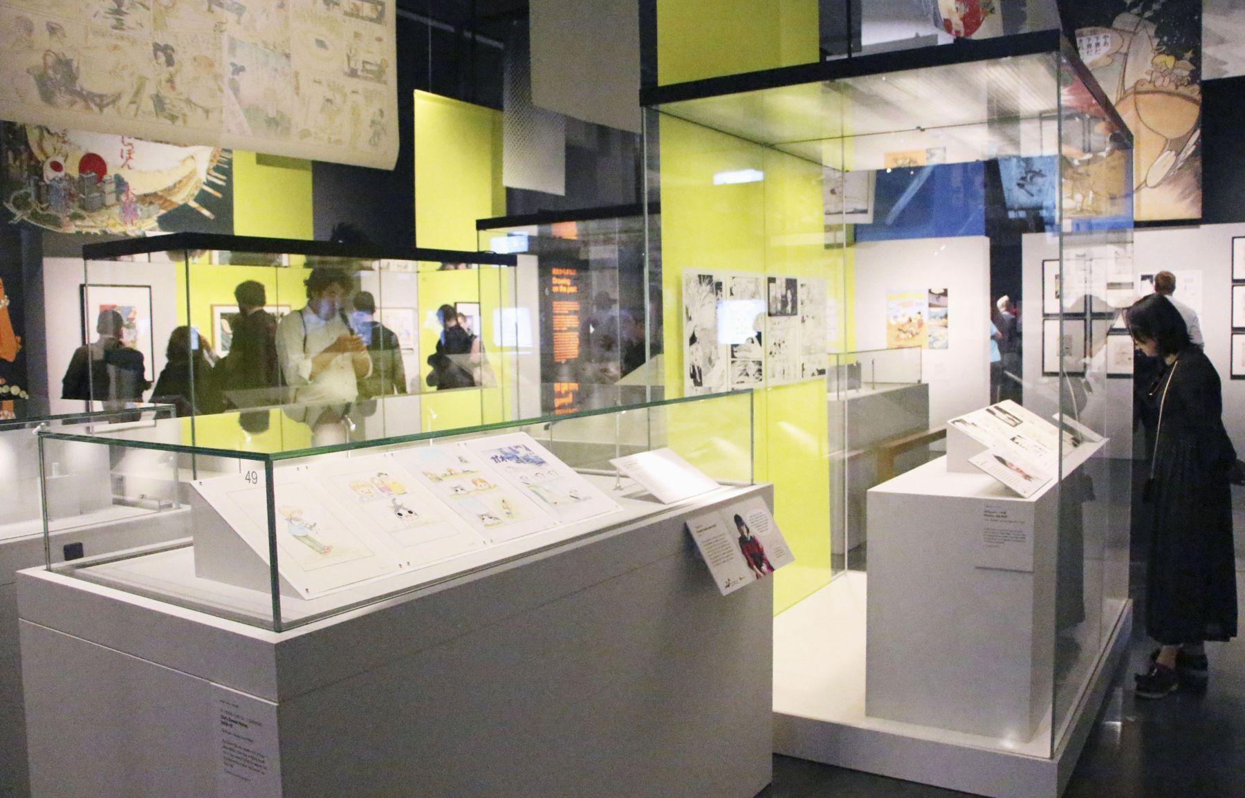 Japan Manga Exhibition at British Museum 009
