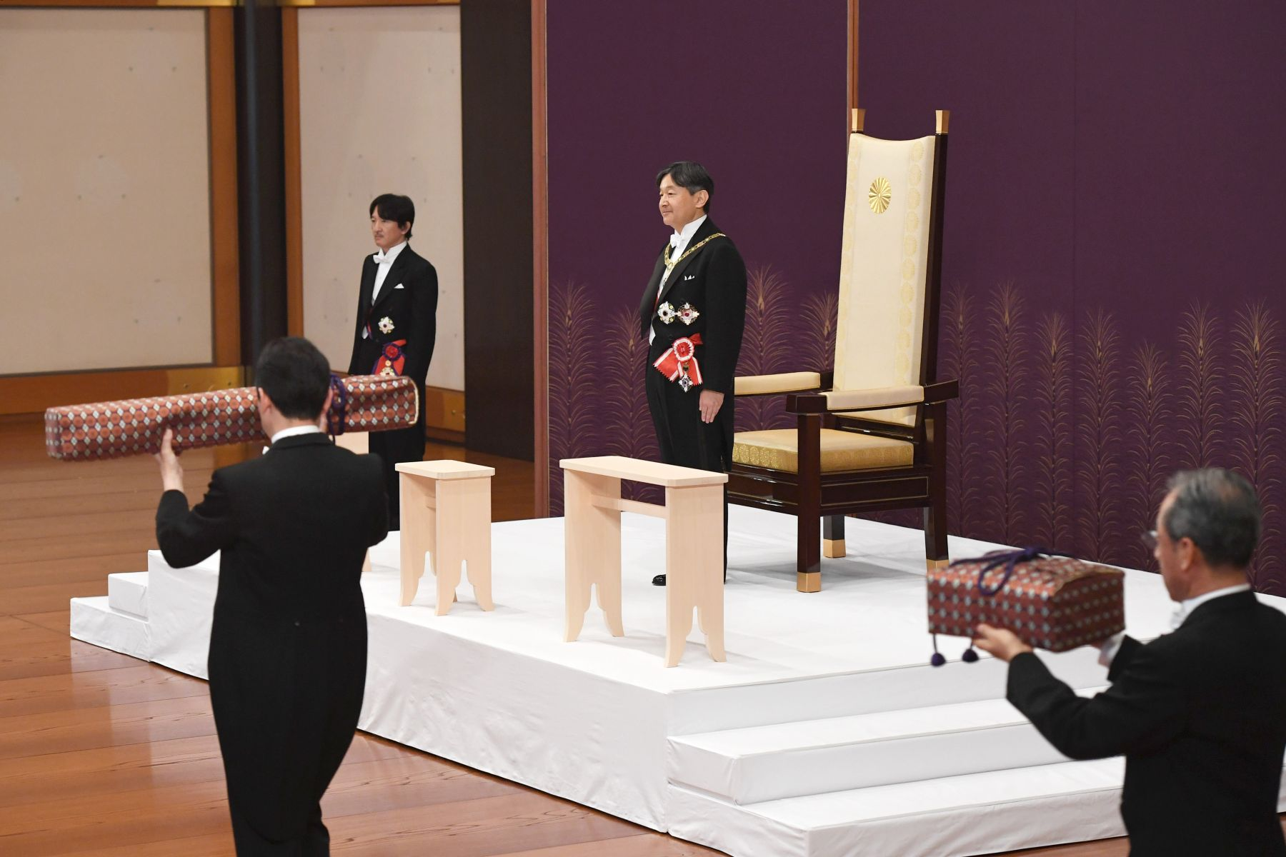Japan and Emperor on the Day of Accession 012