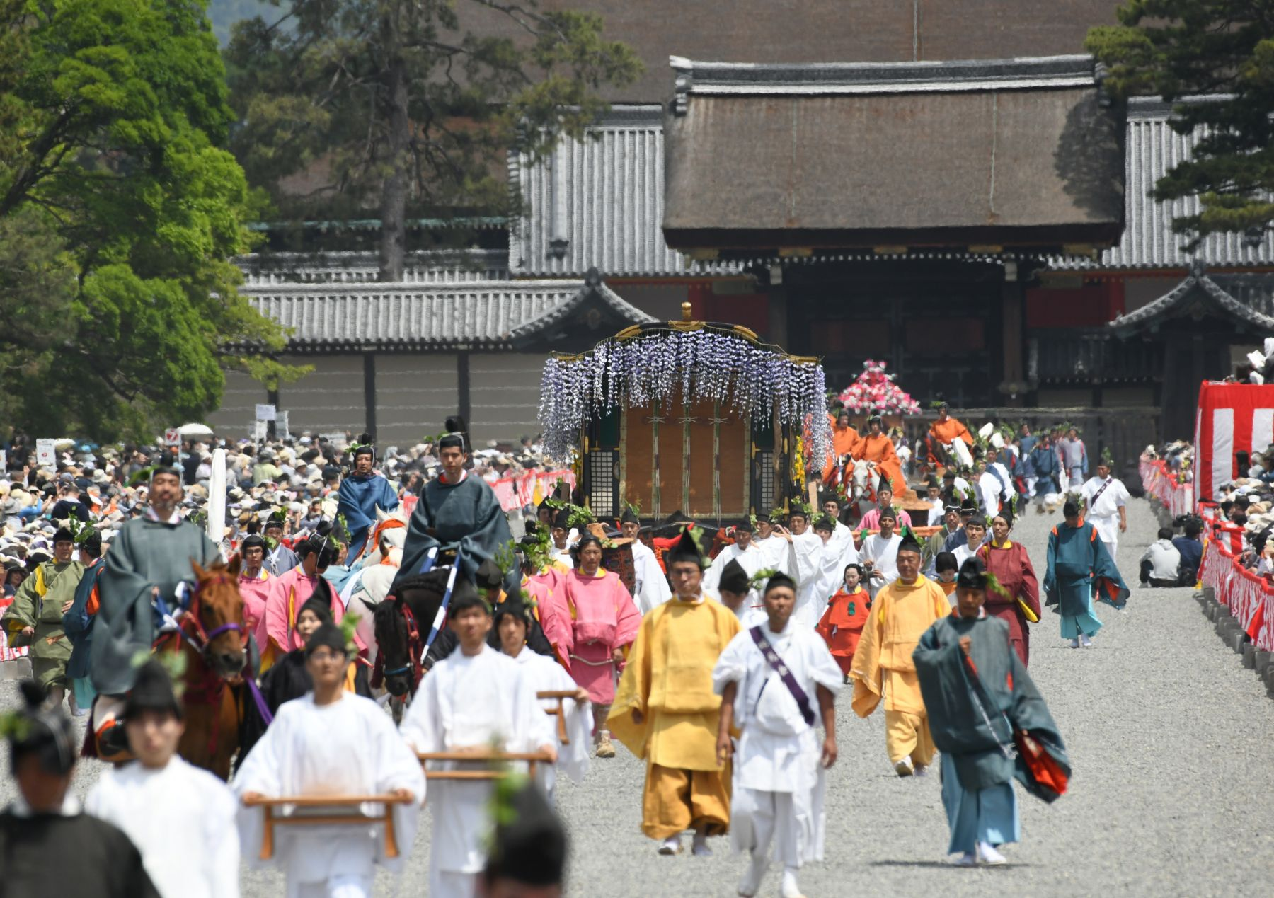 Kyoto's Colorful Traditions on Display at First Aoi Matsuri of Reiwa Era 006