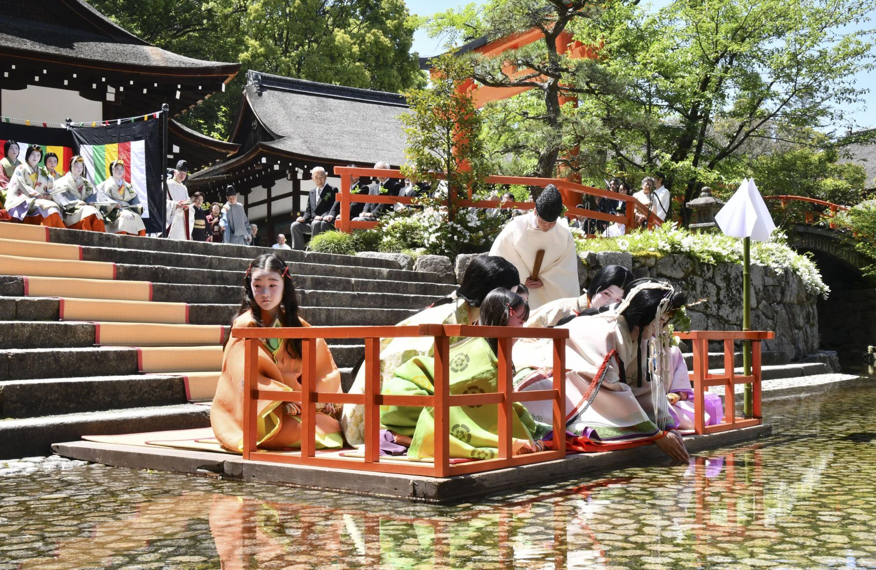 Kyoto's Colorful Traditions on Display at First Aoi Matsuri of Reiwa Era 007